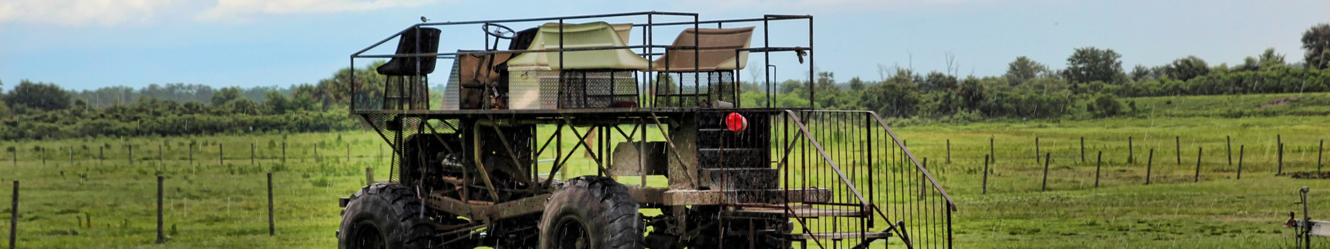 Swamp Buggy Rides near Orlando, FL | Swamp Buggy at the Ranch