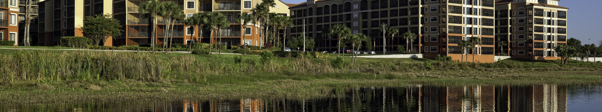 Exterior of our hotel in Orlando, FL | Orlando Florida Hotels | Resort Credit at Westgate Lakes Resort & Spa