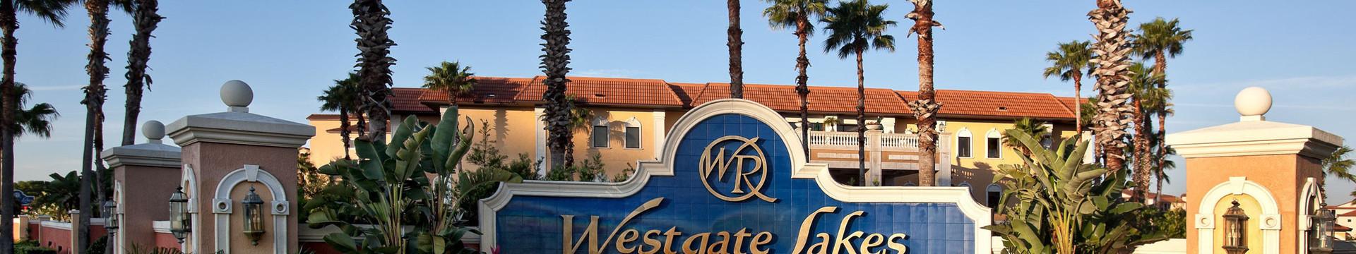 Westgate Lakes sign - Westgate Resorts
