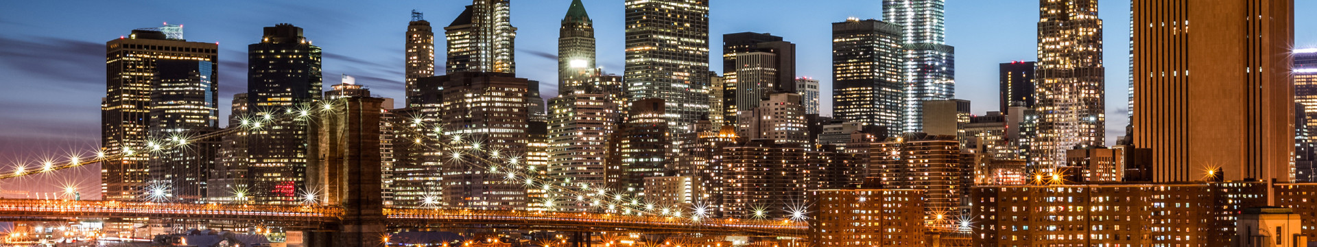 Corporate Incentive Group Hotel Rates In NYC | NYC Skyline at Night