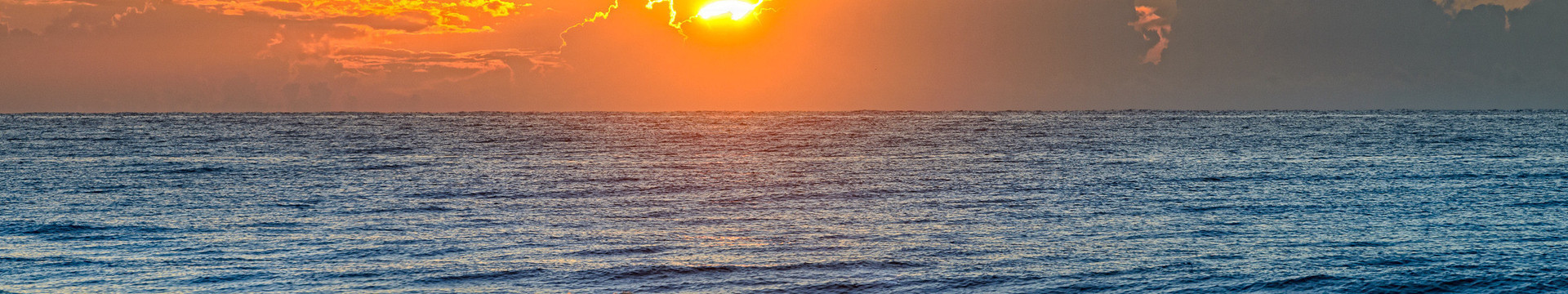 1 Bedroom Ocean View Suites at our Myrtle Beach Resort and Oceanfront Hotel | Sunset Over the Ocean