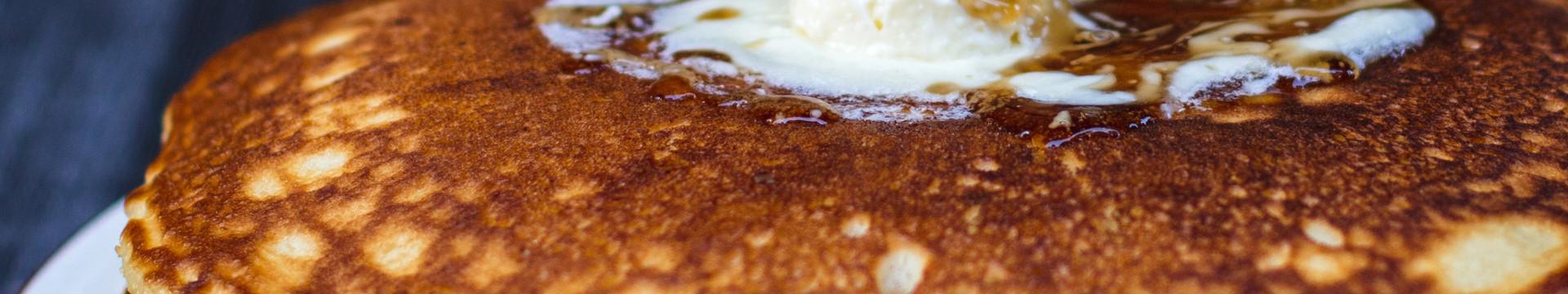 Wild Bear Inn Free Breakfast |  Pancakes