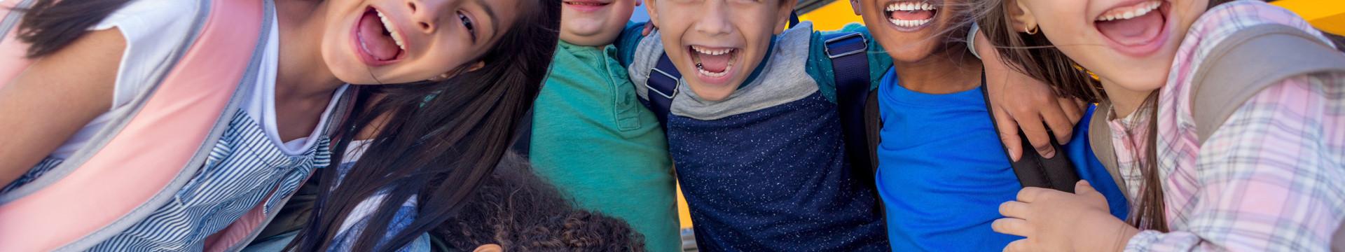 Group of School Children - Westgate New York