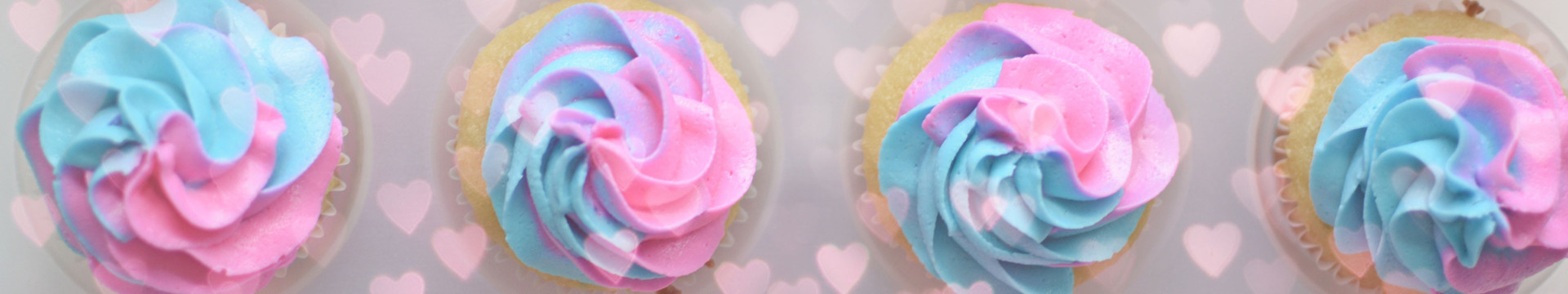 Gender Reveal Party Kissimmee - gender reveal cupcakes