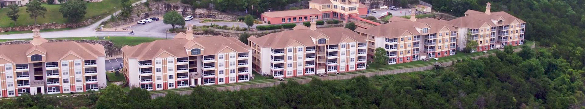 Branson Table Rock Lake Resort at Emerald Pointe | Resort Buildings Overlooking Table Rock Lake