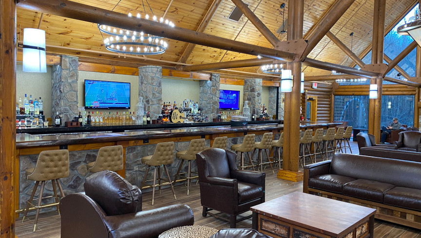 Southern Comfort Lobby Bar - Westgate Smoky Mountain Resort
