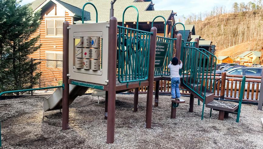Child playing at Playground - Westgate Smoky Mountain Resort