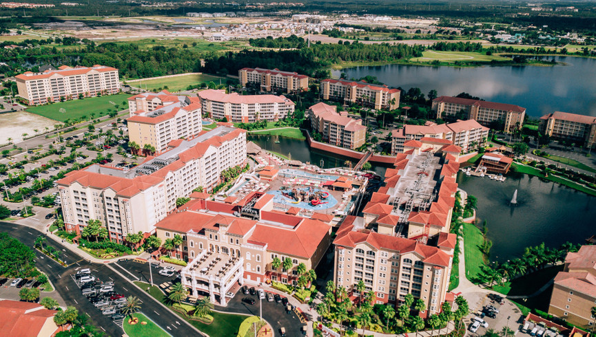 Aerial View Of Westgate Town Center Resort