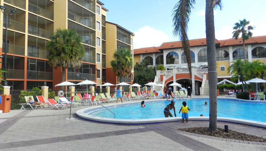 Pool at the Island Water Park Resort | Westgate Town Center Resort & Spa | Westgate Resorts