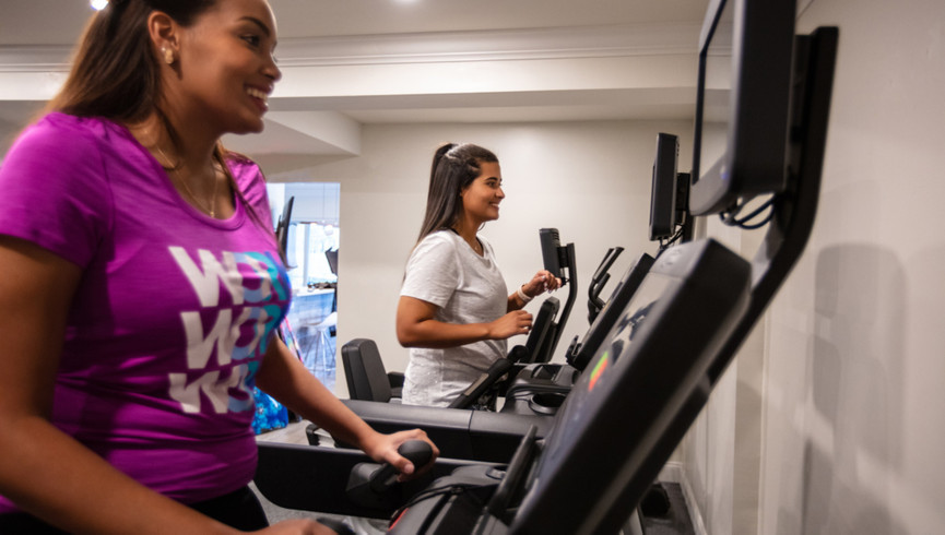 Stay in shape on your Cocoa Beach vacation getaway with our Fitness Center. Premium fitness, cardio and weight training equipment for those guests who wish to reenergize, rejuvenate, tone up or embark on a new workout routine.