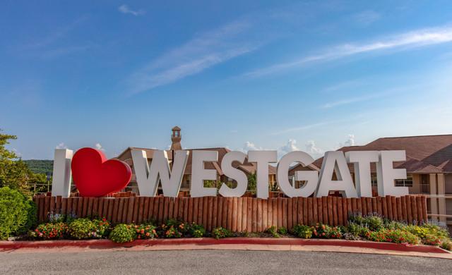 I love Westgate Sign at Westgate Branson Lakes Resort