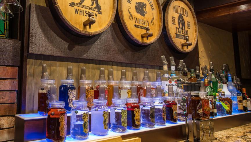 Bar at the Wild Bear Tavern | Wild Bear Inn