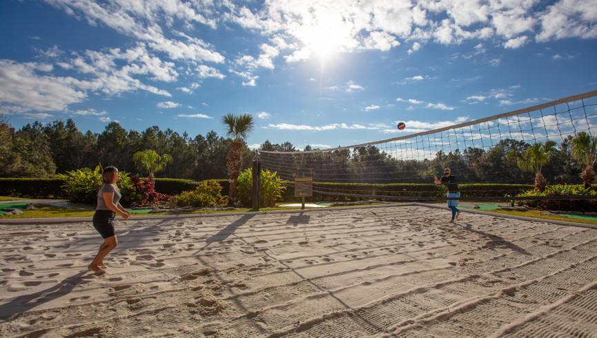 Sand volleyball court at one of our leisure resorts near Seaworld Orlando FL | Westgate Leisure Resort | Westgate Resorts