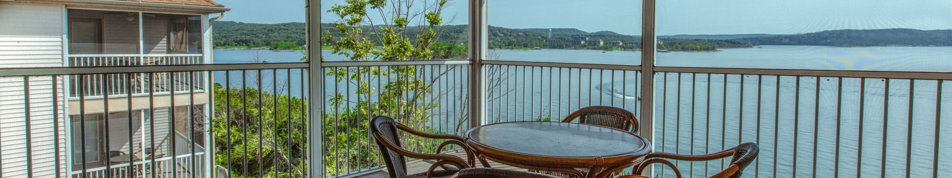 Special Discount Rates for Branson Table Rock Lake Resort at Emerald Pointe | Resort Building Overlooking Table Rock Lake