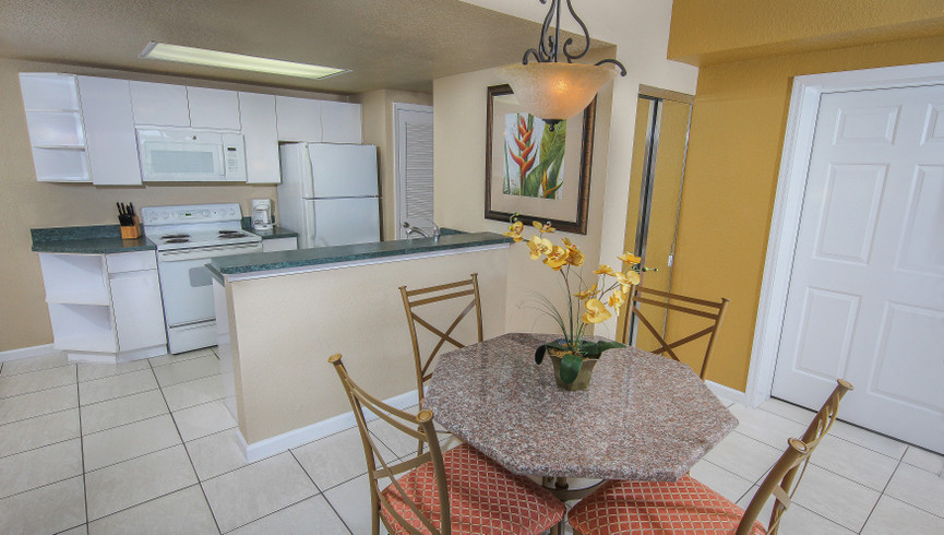 Kitchen in Two Bedroom Villa | Westgate Towers Resort