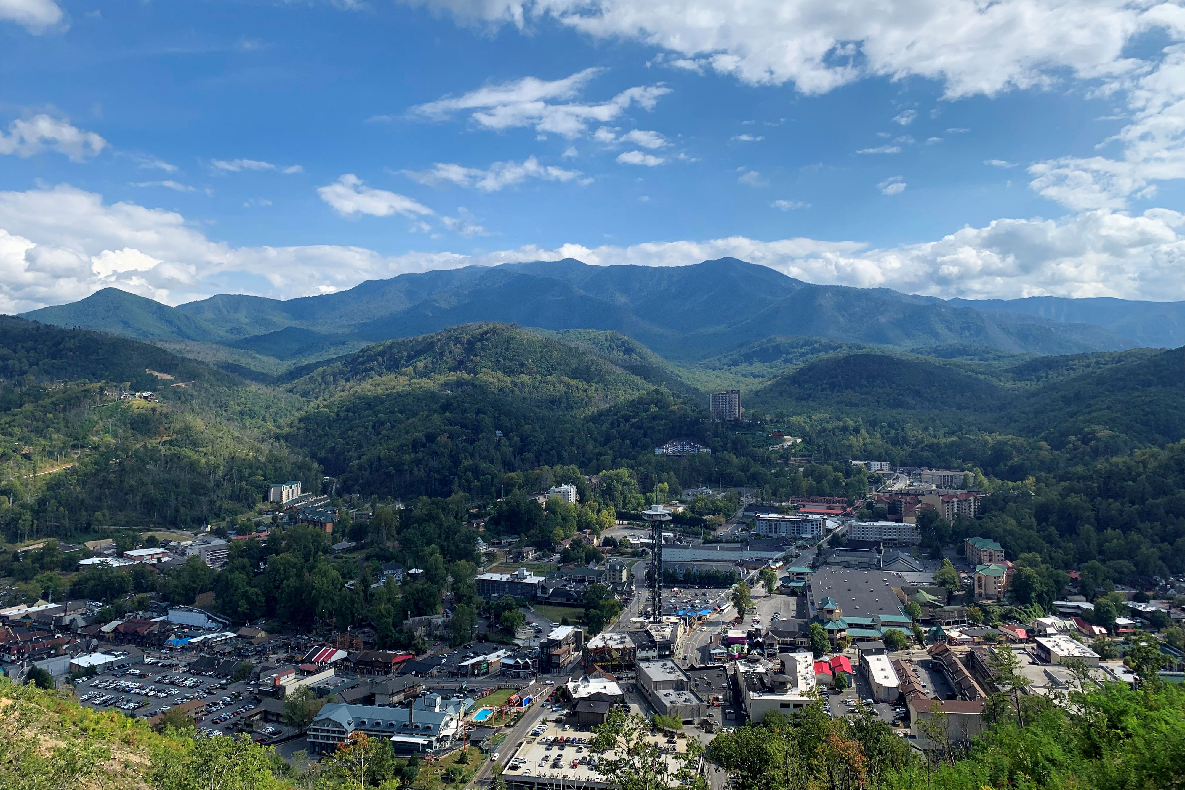 How Far is River Terrace Resort & Convention Center from Downtown Gatlinburg