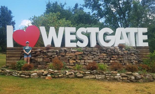 I love Westgate sign at Westgate Branson Woods Resort