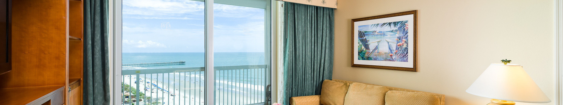 Does Westgate Myrtle Beach Resort offer ocean view rooms?