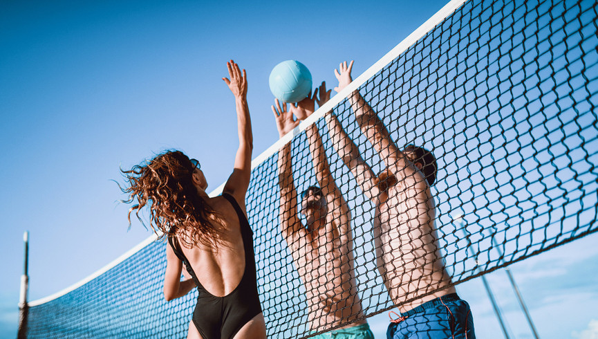 Volleyball court at our Orlando resorts | Westgate Blue Tree Resort | Westgate Resorts Orlando