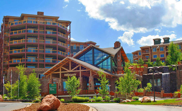 Pool at our Park City, Utah Hotel and Ski Resort located near Park City Mountain | Resort Exterior in Winter