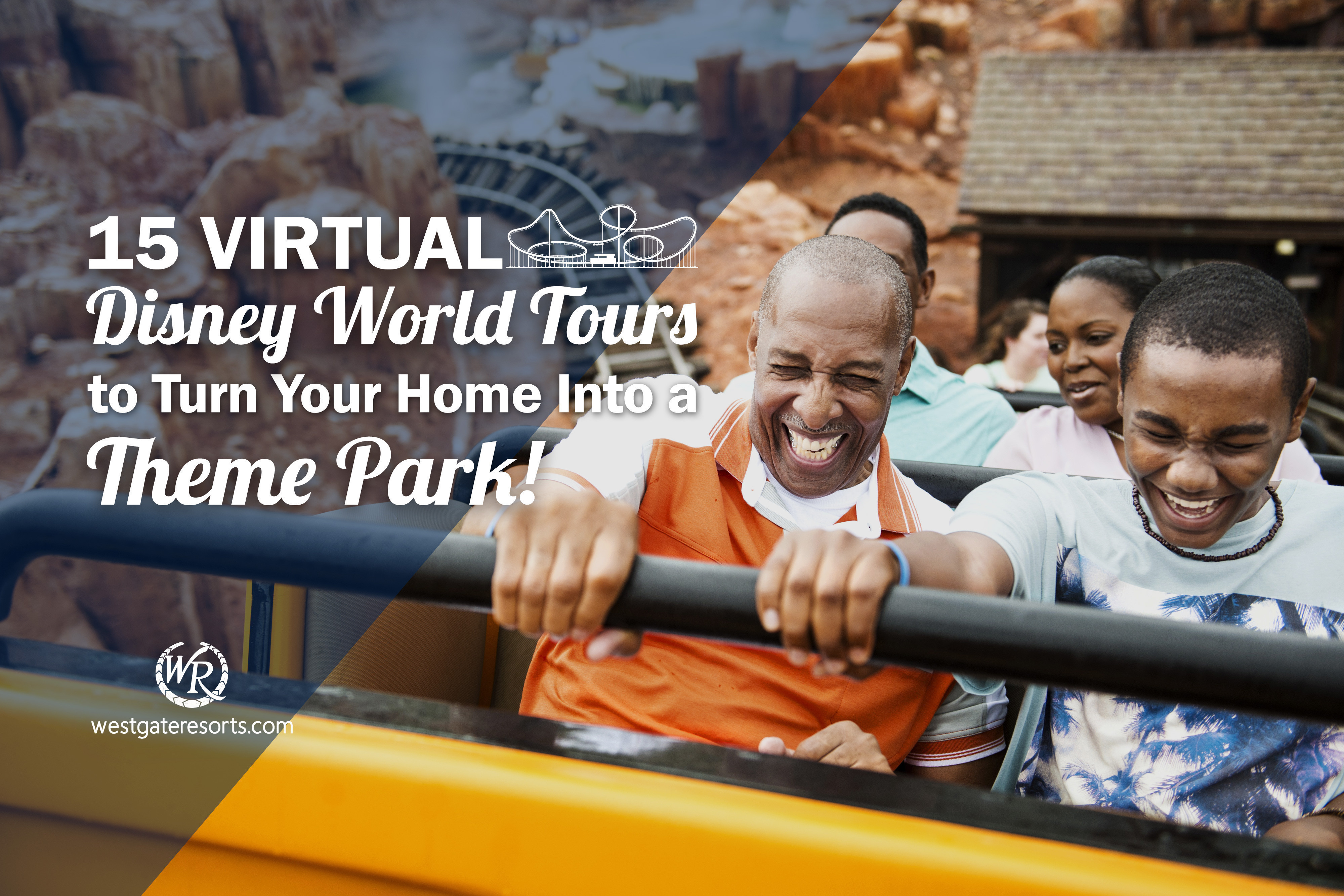 15 Virtual Disney World Tours to Turn Your Home Into a Theme Park!