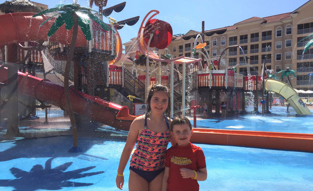 Shipwreck Island Water Park Kissimmee | Kiddie Water Play Area