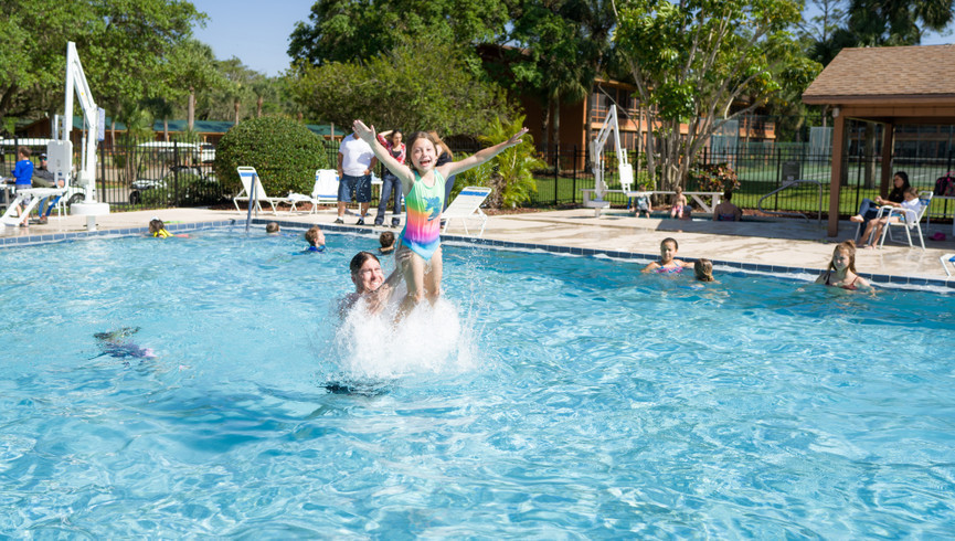 Pool at Our Resort in River Ranch, FL |  Westgate River Ranch Resort & Rodeo | Westgate Resorts