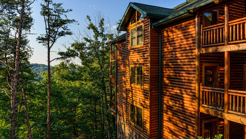 Exterior Cabins - Westgate Smoky Mountain Resort