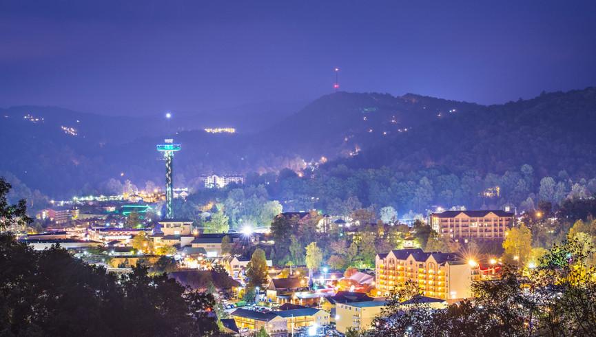 Gatlinburg Resort near the Smoky Mountains | City View