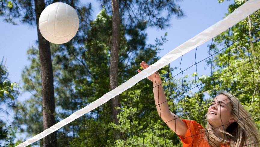Volleyball court at one of our resorts in Kissimmee FL | Westgate Vacation Villas Resort & Spa | Westgate Resorts