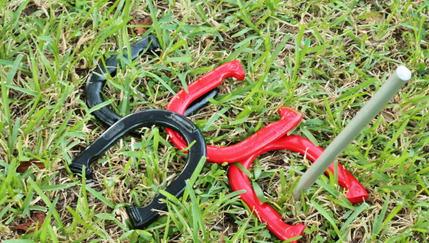 Horseshoes at one of our Resorts on International Drive in Orlando Florida | Westgate Palace Resort | Westgate Resorts