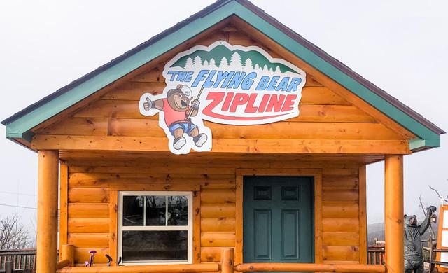 Ziplining in Gatlinburg near the Smoky Mountains | Happy Children