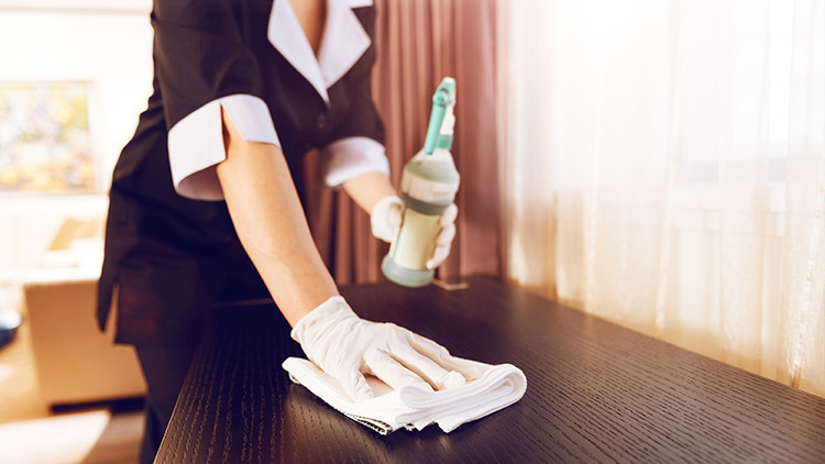 Surface Cleaning - Stay Safe with Cleaner Hotel Rooms