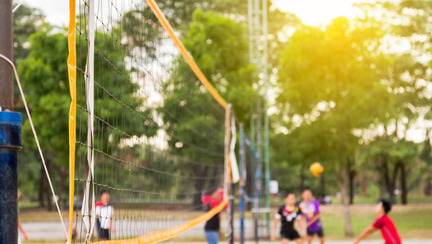 Sand volleyball courts at our family resorts in Missouri | Westgate Branson Lakes Resort | Westgate Resorts