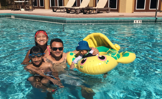 Family in the pool | Westgate Blue Tree Resort