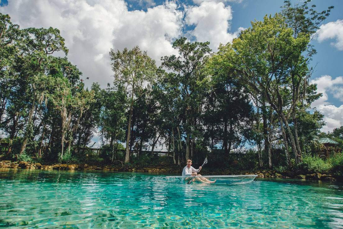 Crystal River - Best Places to Kayak in Florida