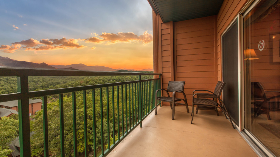 Balcony in Two-Bedroom Grand Villa | Westgate Branson Woods Resort | Westgate Resorts