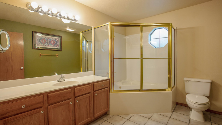 Bathroom in Two-Bedroom Villa - Branson Villas | Westgate Branson Woods Resort | Westgate Resorts