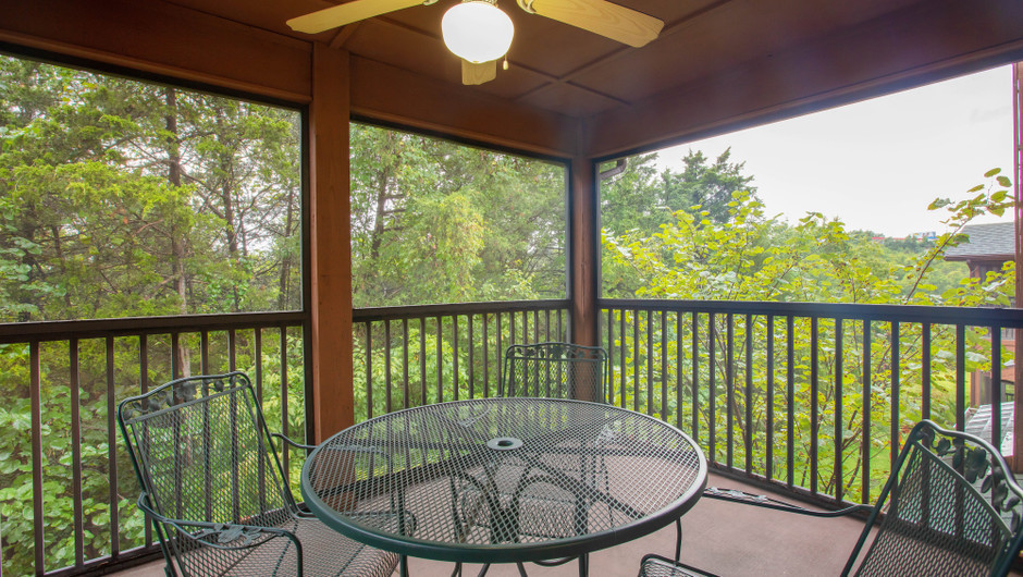 Balcony in Two-Bedroom Villa - Branson Villas | Westgate Branson Woods Resort | Westgate Resorts