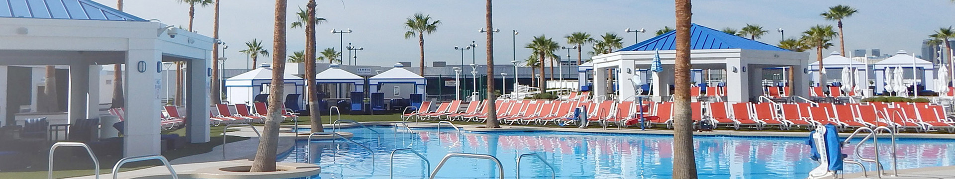 Pool and Cabanas at Westgate Las Vegas Resort