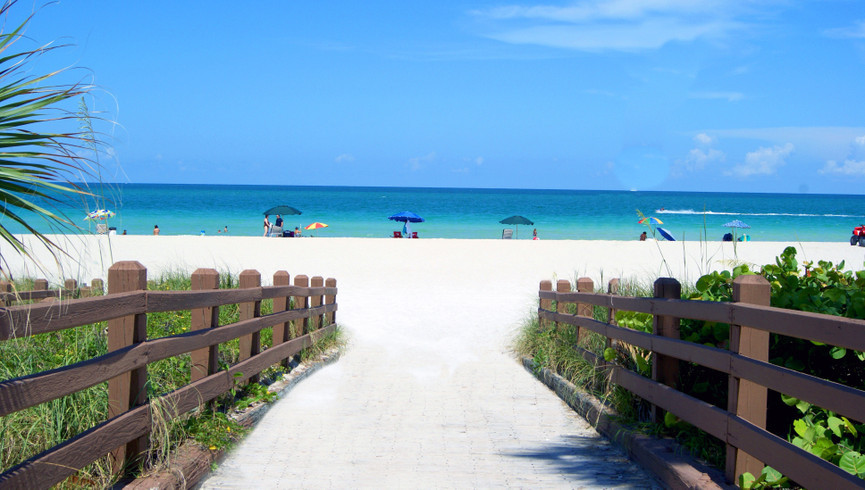 Scenic Beach View