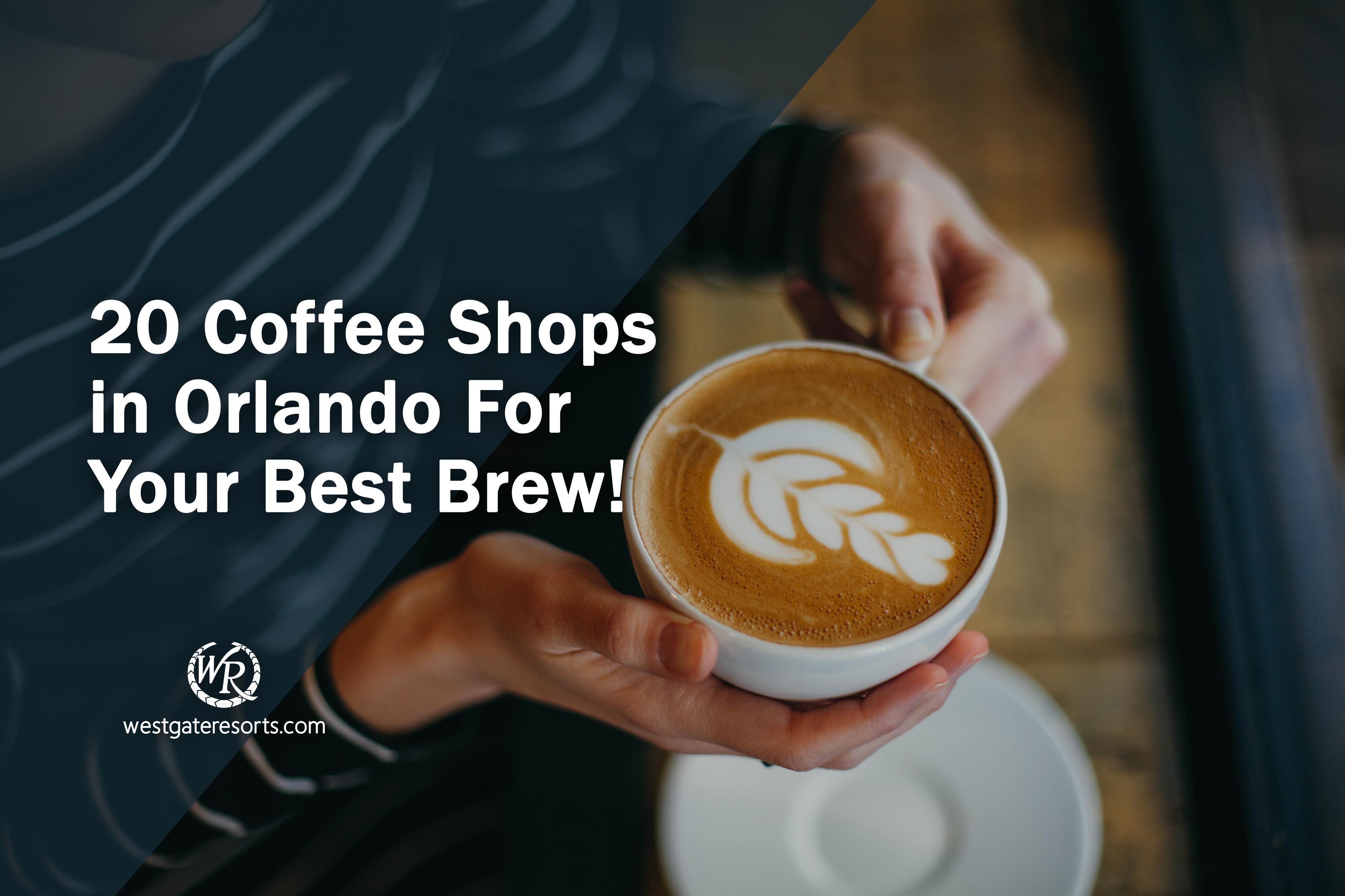 20 Coffee Shops in Orlando For Your Best Brew!