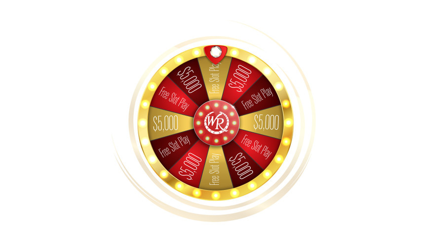 Westgate's Spin To Win Wheel
