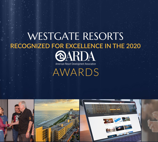Collage of images from ARDA Awards - Westgate Resorts