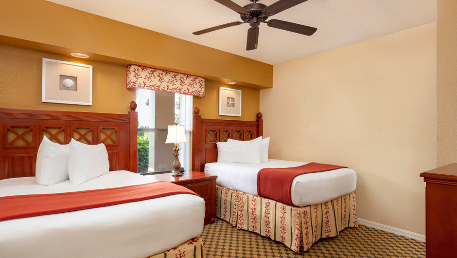 Bedroom in a Two-Bedroom Villa | Westgate Lakes Resort & Spa | Orlando, FL | Westgate Resorts
