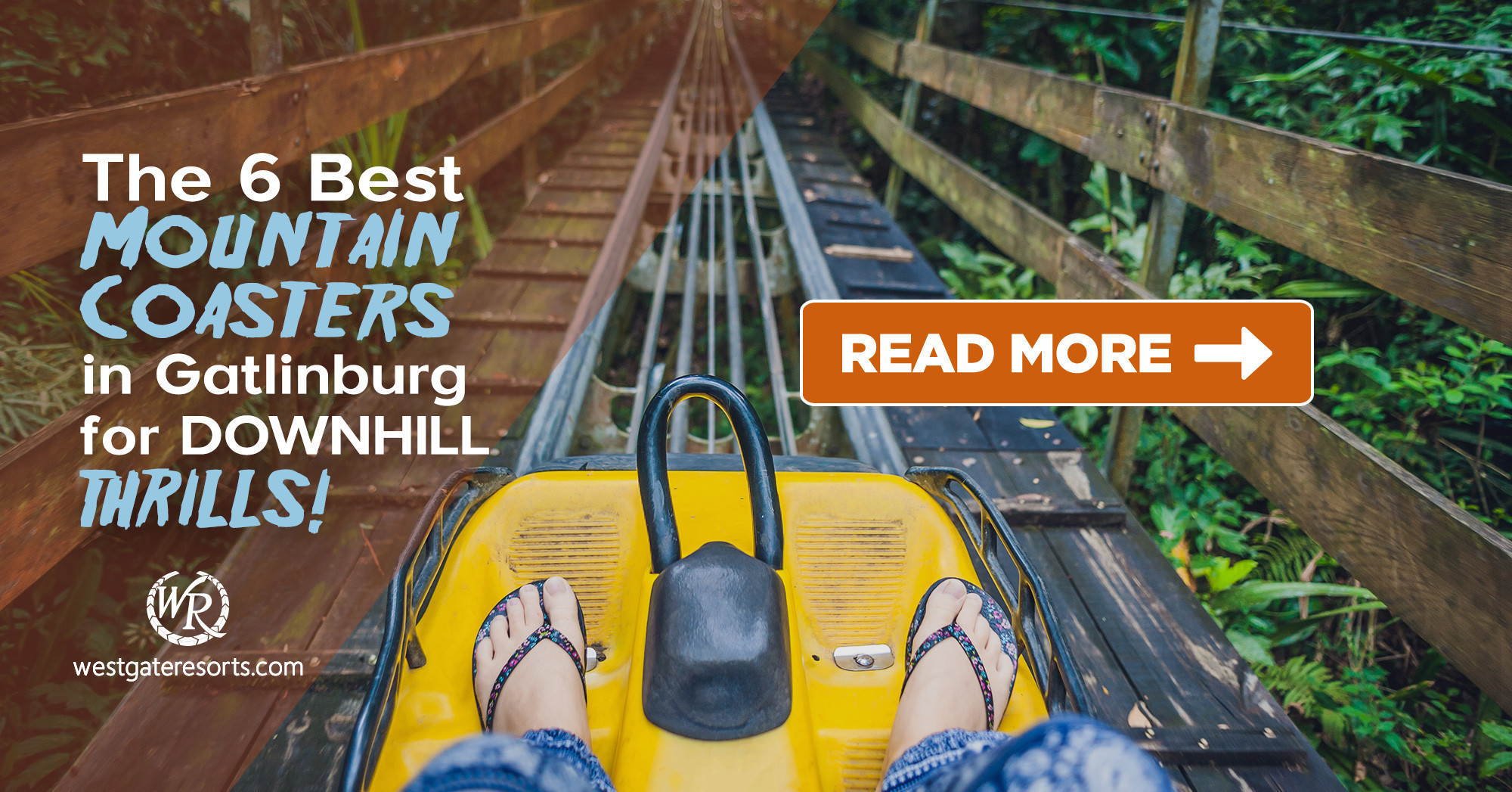 6 Best Mountain Coasters in Gatlinburg!