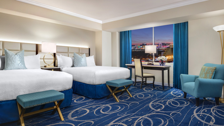 Luxe Double Queen Room | Westgate Las Vegas