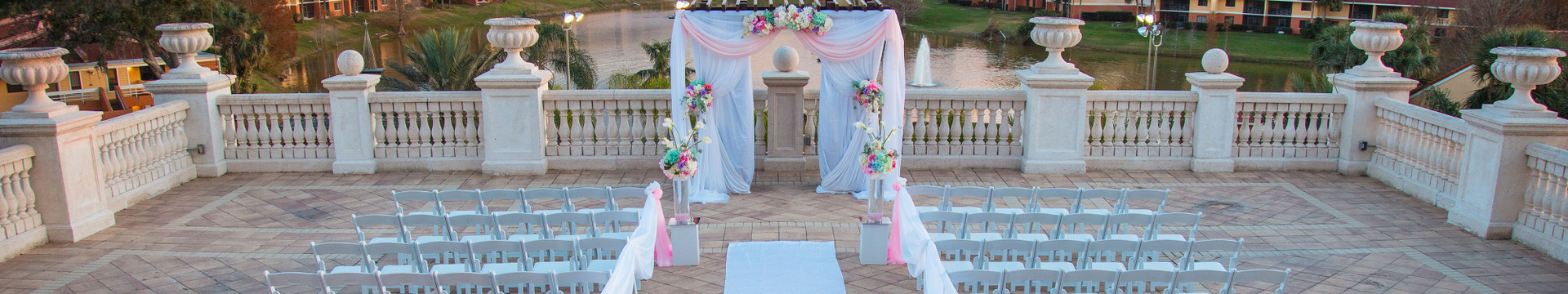 Kissimmee Hotel Wedding Deals - Ceremony Space @ Westgate Town Center Resort