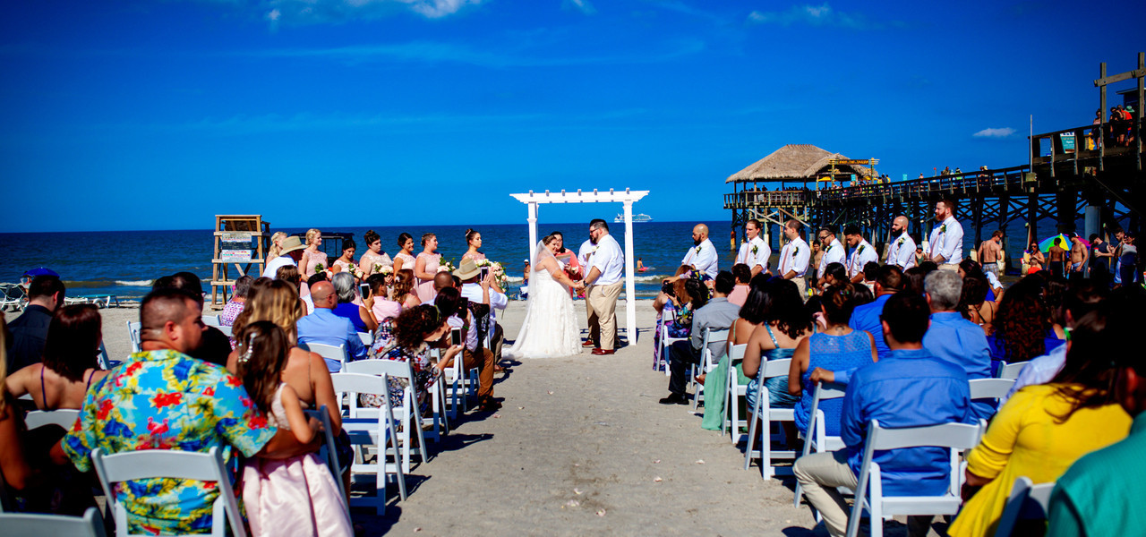 Wedding Venue With Accommodations On Site In Cocoa Beach - table with wedding decor