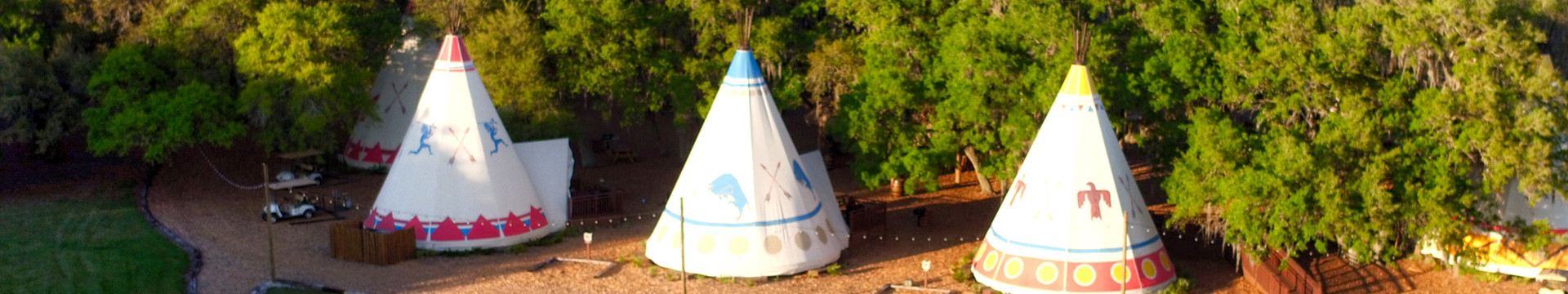 Luxury Camping Florida | Luxe Teepees